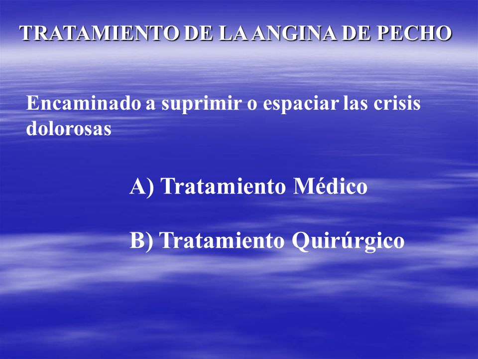B) Tratamiento Quirúrgico