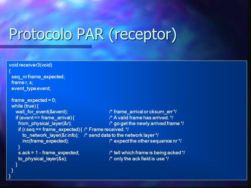 Protocolo PAR (receptor)