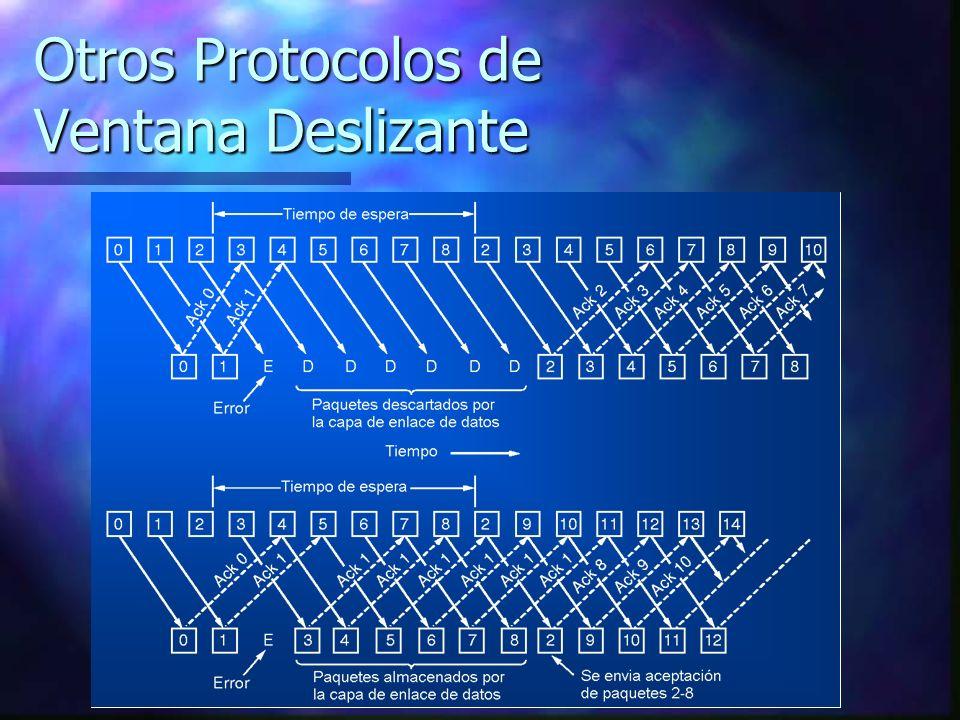 Otros Protocolos de Ventana Deslizante
