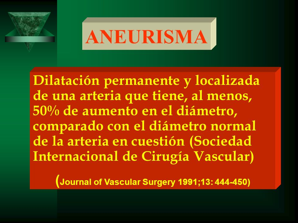 (Journal of Vascular Surgery 1991;13: 444-450)