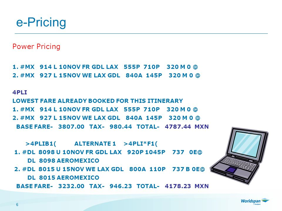 e-Pricing Power Pricing