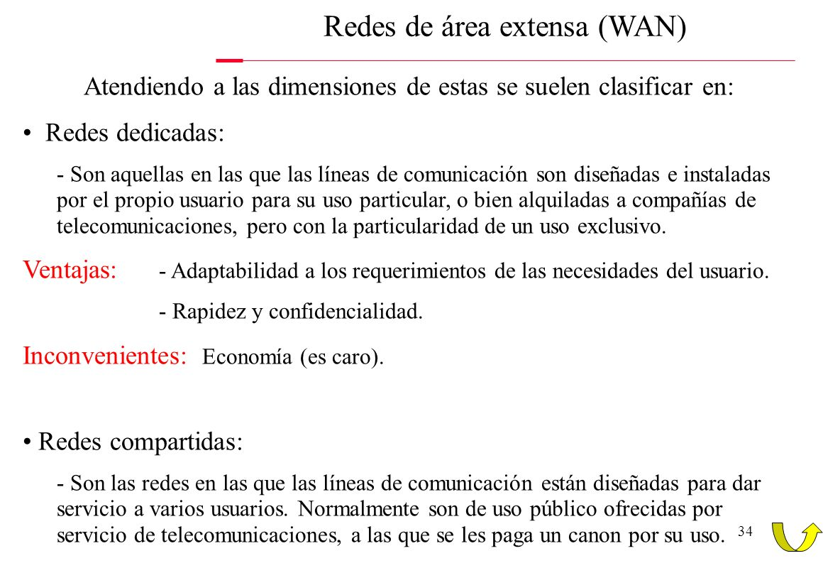 Redes de área extensa (WAN)