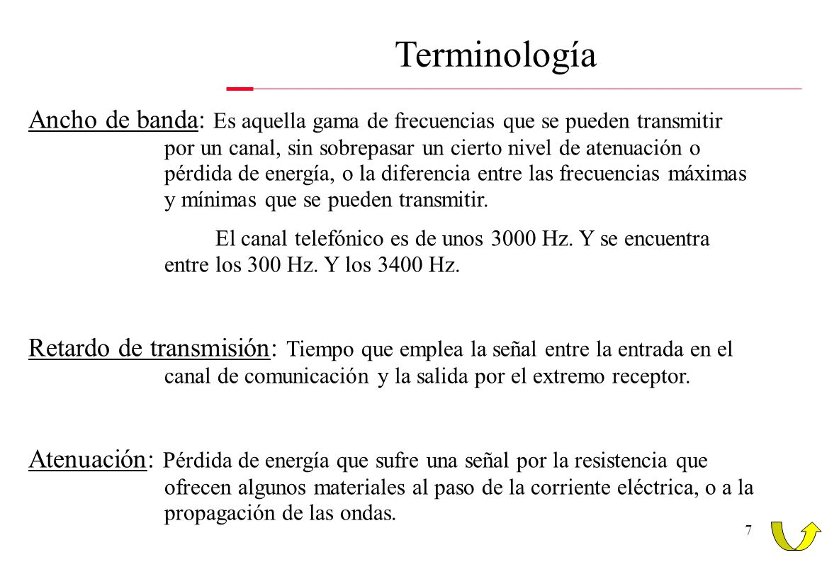 Terminología