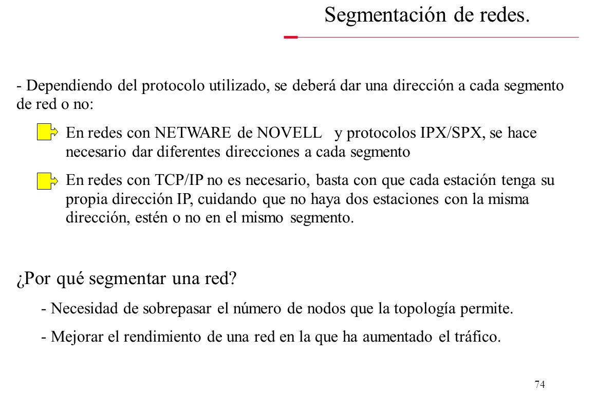 Segmentación de redes. ¿Por qué segmentar una red