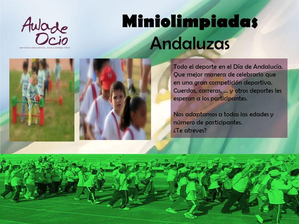 Miniolimpiadas Andaluzas