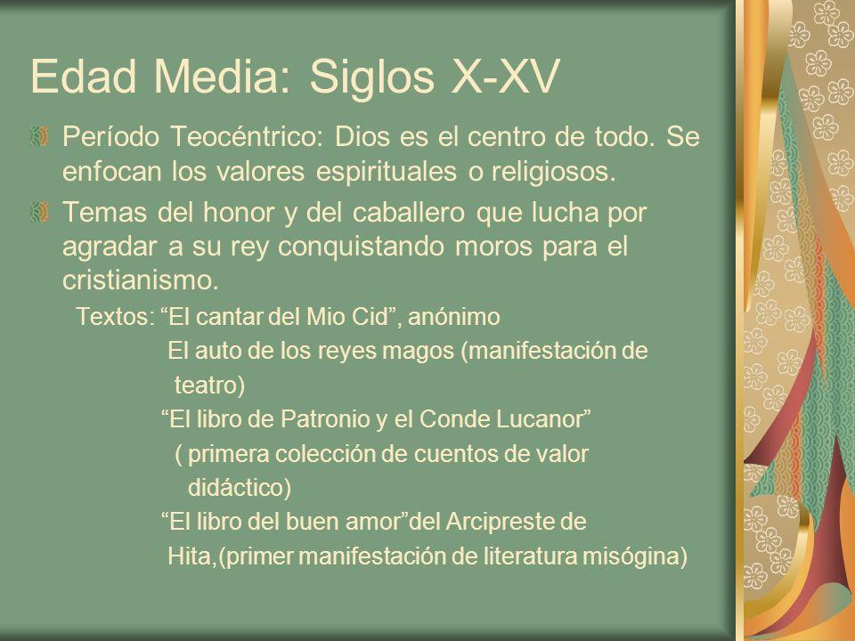 Edad Media: Siglos X-XV