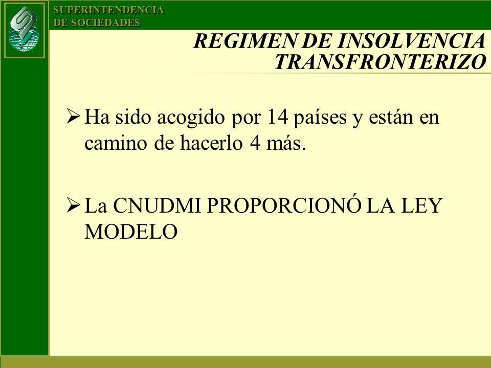 REGIMEN DE INSOLVENCIA TRANSFRONTERIZO