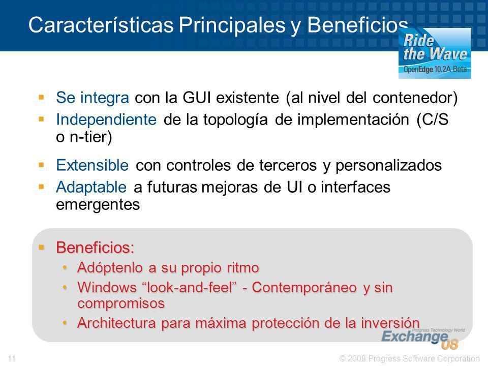 Características Principales y Beneficios