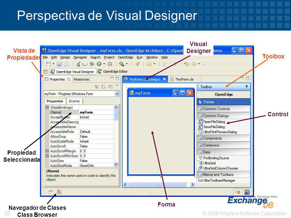 Perspectiva de Visual Designer