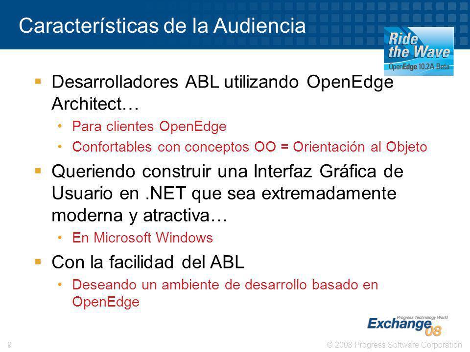 Características de la Audiencia
