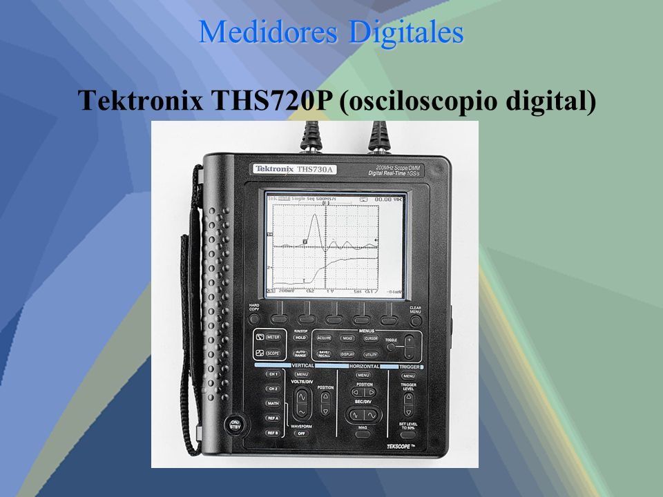 Tektronix THS720P (osciloscopio digital)
