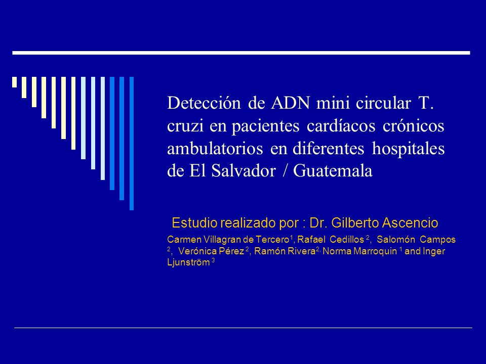 Detección de ADN mini circular T