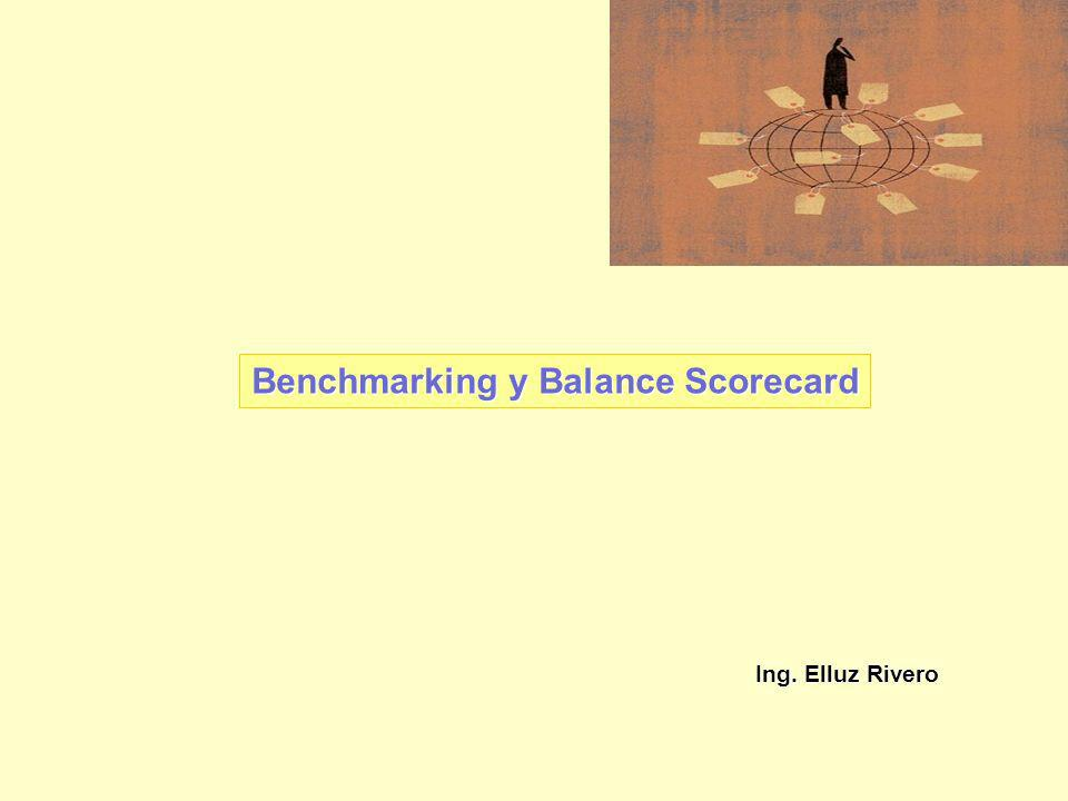 Benchmarking y Balance Scorecard