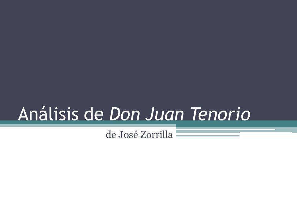 Análisis de Don Juan Tenorio