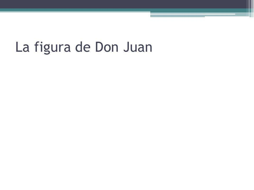 La figura de Don Juan