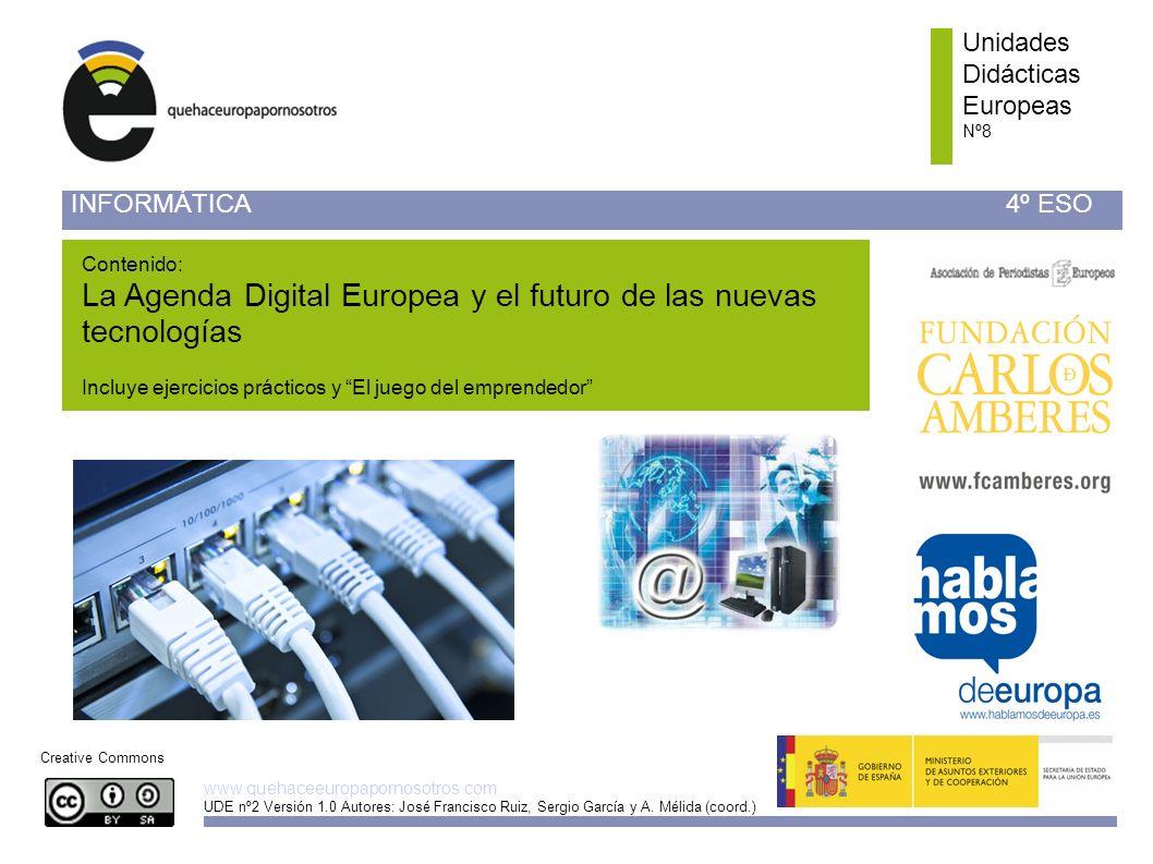 La Agenda Digital Europea y el futuro de las nuevas tecnologías