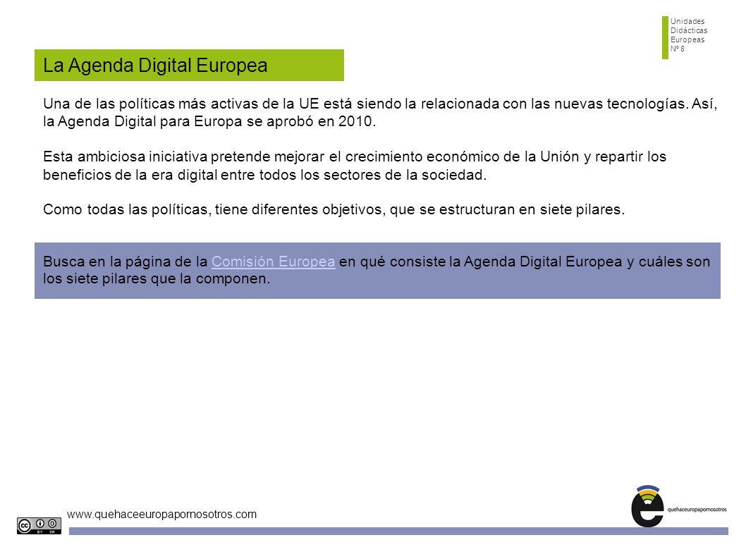 La Agenda Digital Europea