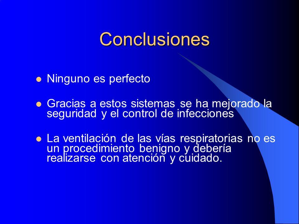 Conclusiones Ninguno es perfecto