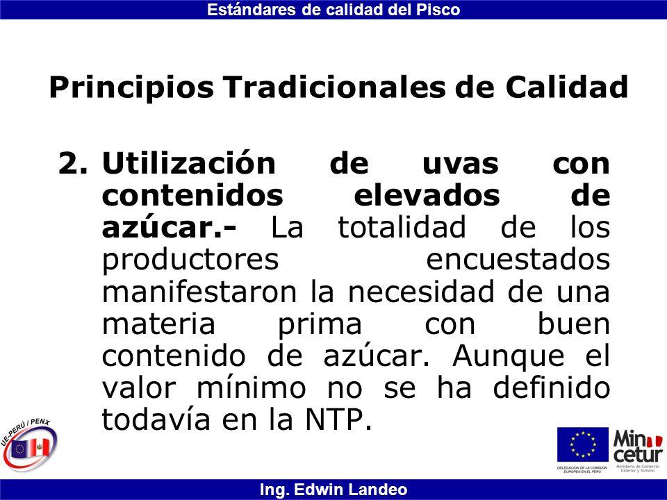Principios Tradicionales de Calidad