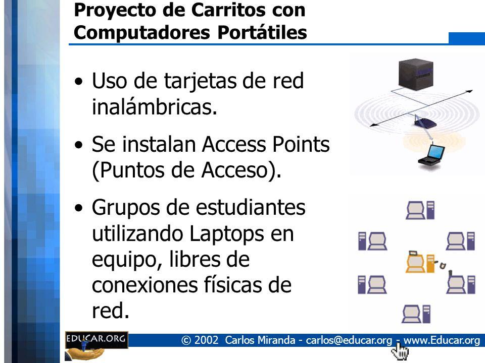Proyecto de Carritos con Computadores Portátiles
