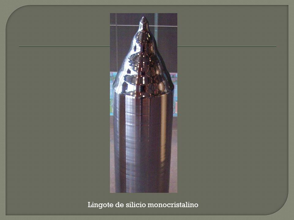 Lingote de silicio monocristalino