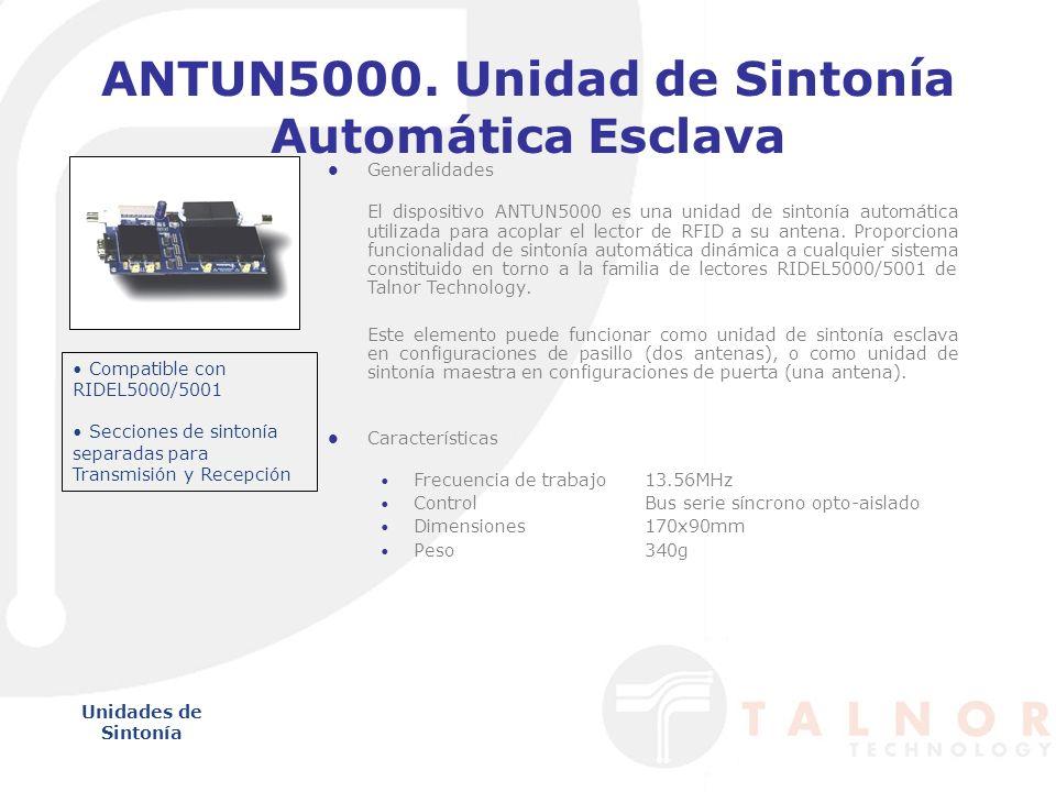 ANTUN5000. Unidad de Sintonía Automática Esclava
