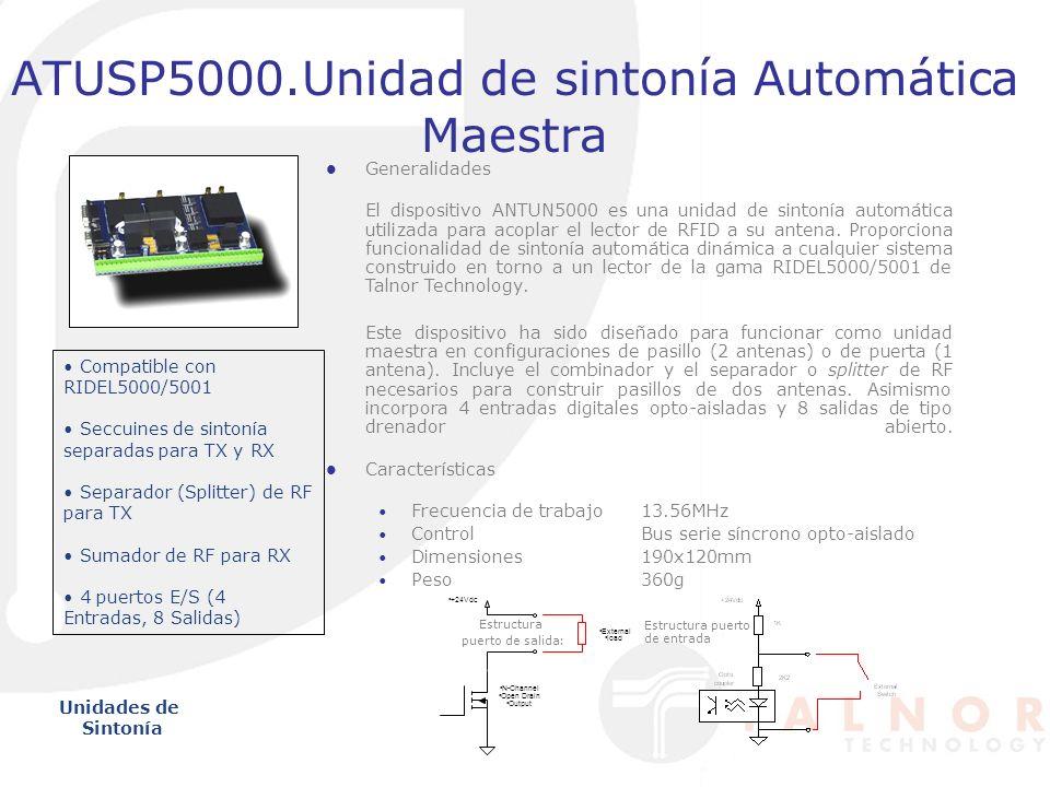 ATUSP5000.Unidad de sintonía Automática Maestra