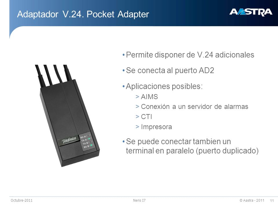 Adaptador V.24. Pocket Adapter