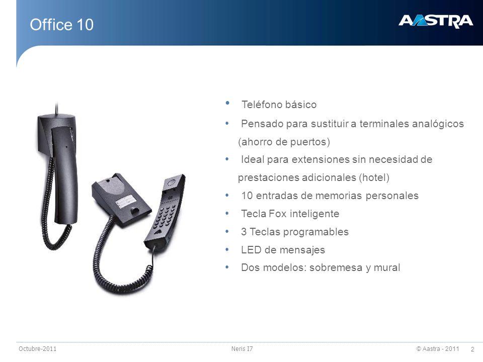 Office 10 Teléfono básico
