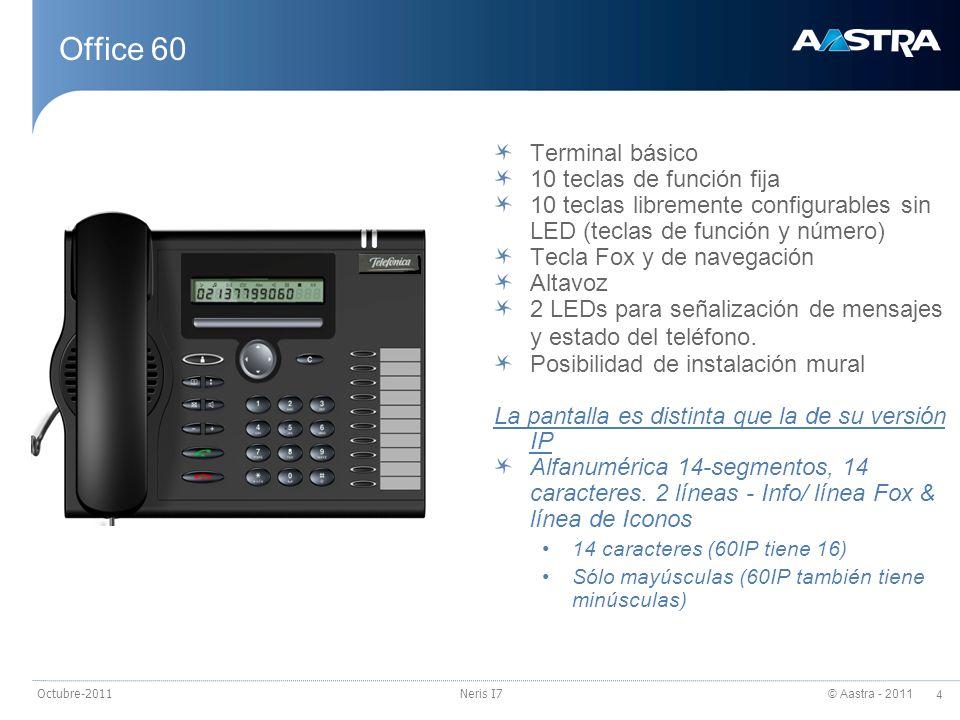 Office 60 Terminal básico 10 teclas de función fija