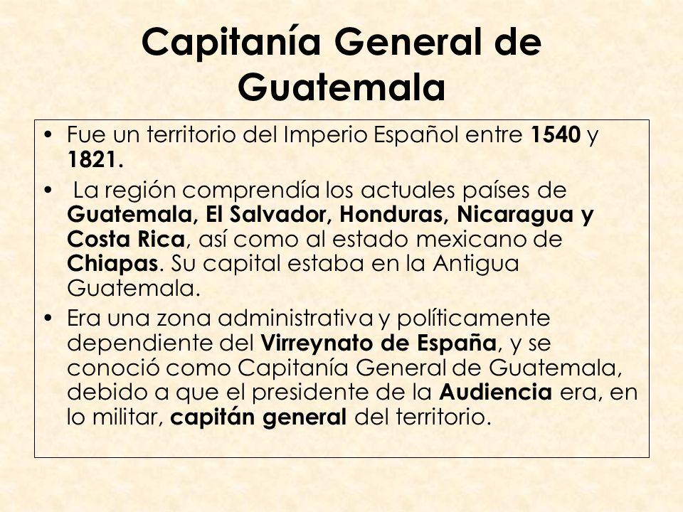 Capitanía General de Guatemala