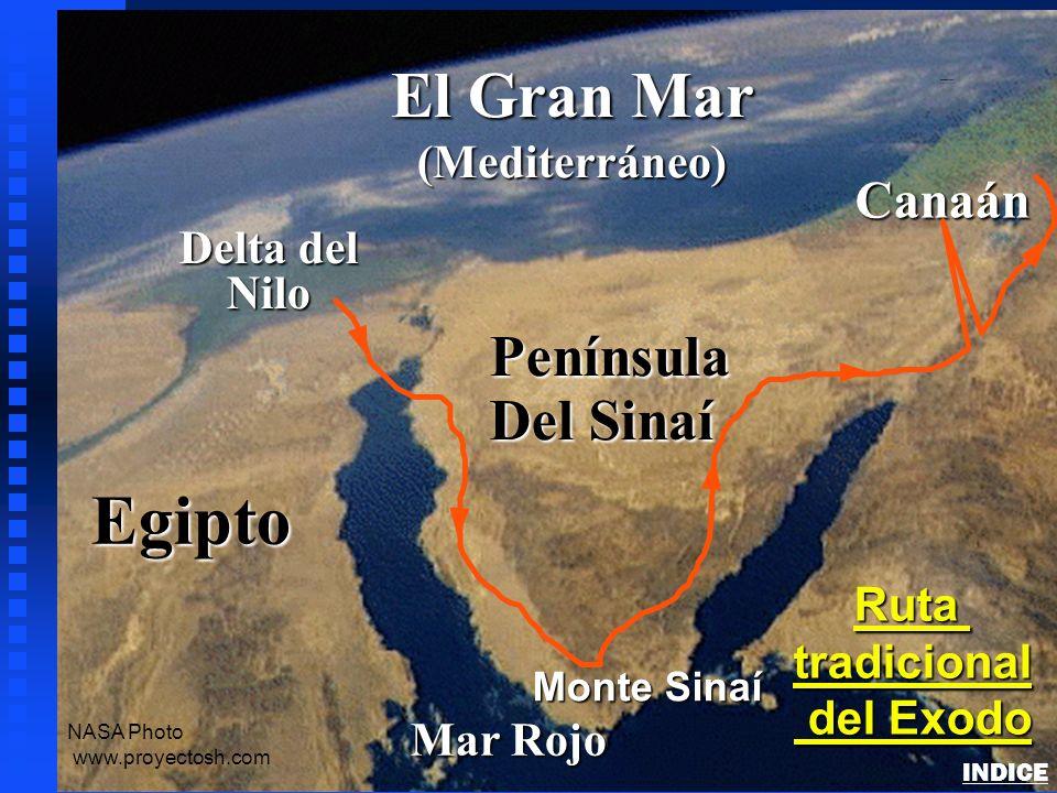 Egipto El Gran Mar Península Del Sinaí Canaán (Mediterráneo) Delta del