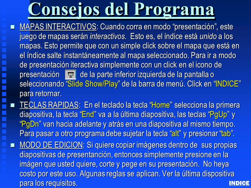 Consejos del Programa