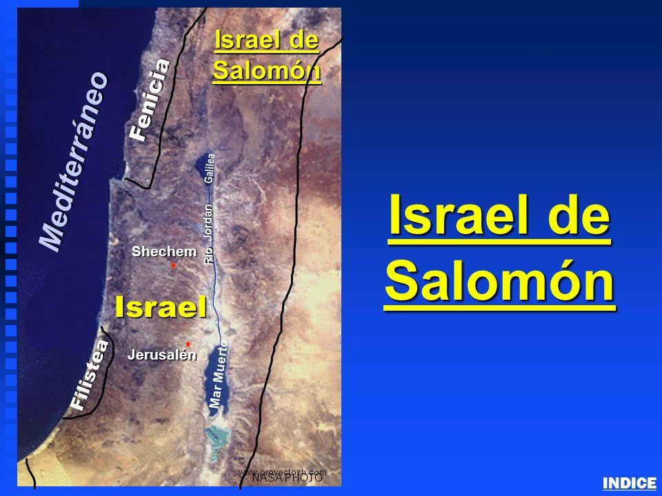 Israel de Salomón Mediterráneo Israel Israel de Salomón Fenicia