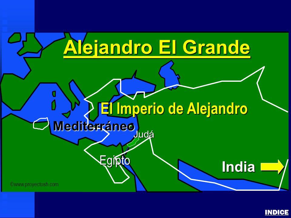 Alejandro El Grande El Imperio de Alejandro India Mediterráneo Egipto