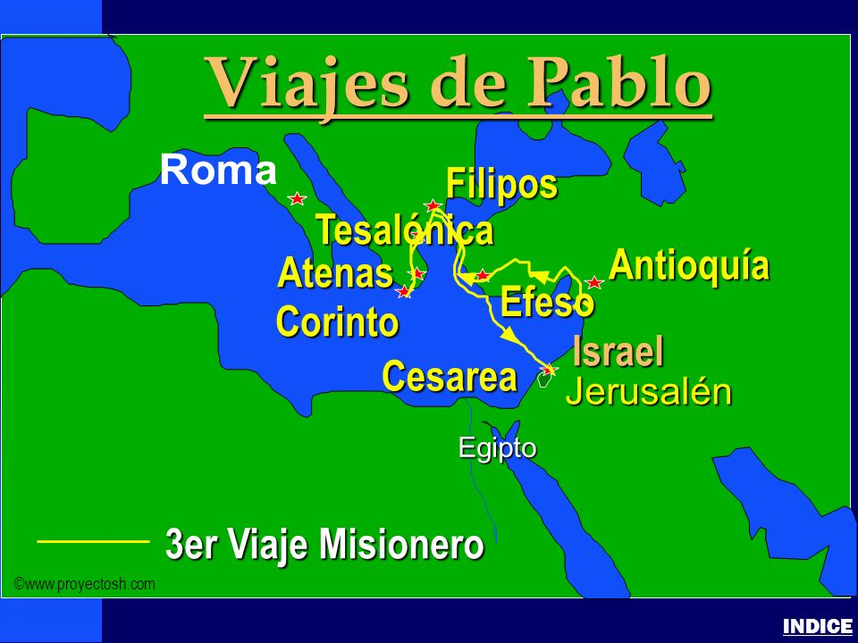 Paul-3rd Missionary Journey