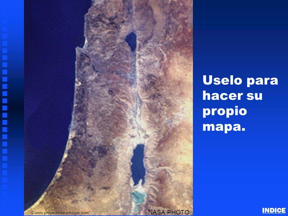 Uselo para hacer su propio mapa.
