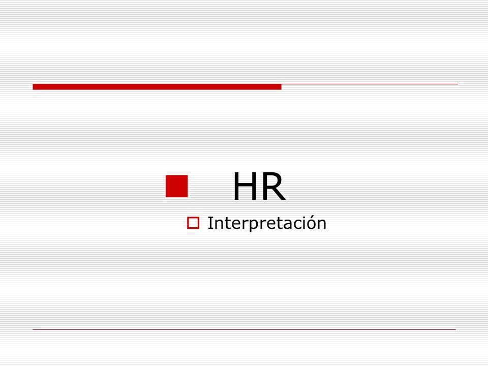 HR Interpretación