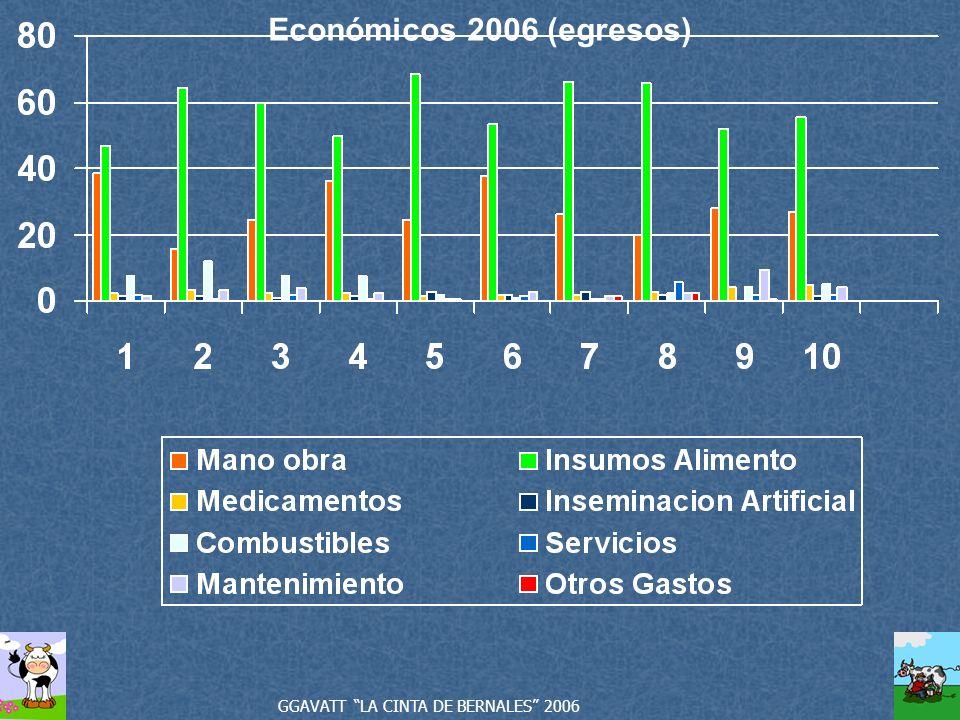 Económicos 2006 (egresos) GGAVATT LA CINTA DE BERNALES 2006