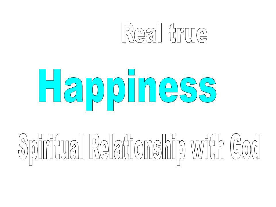 Spiritual Relationship with God