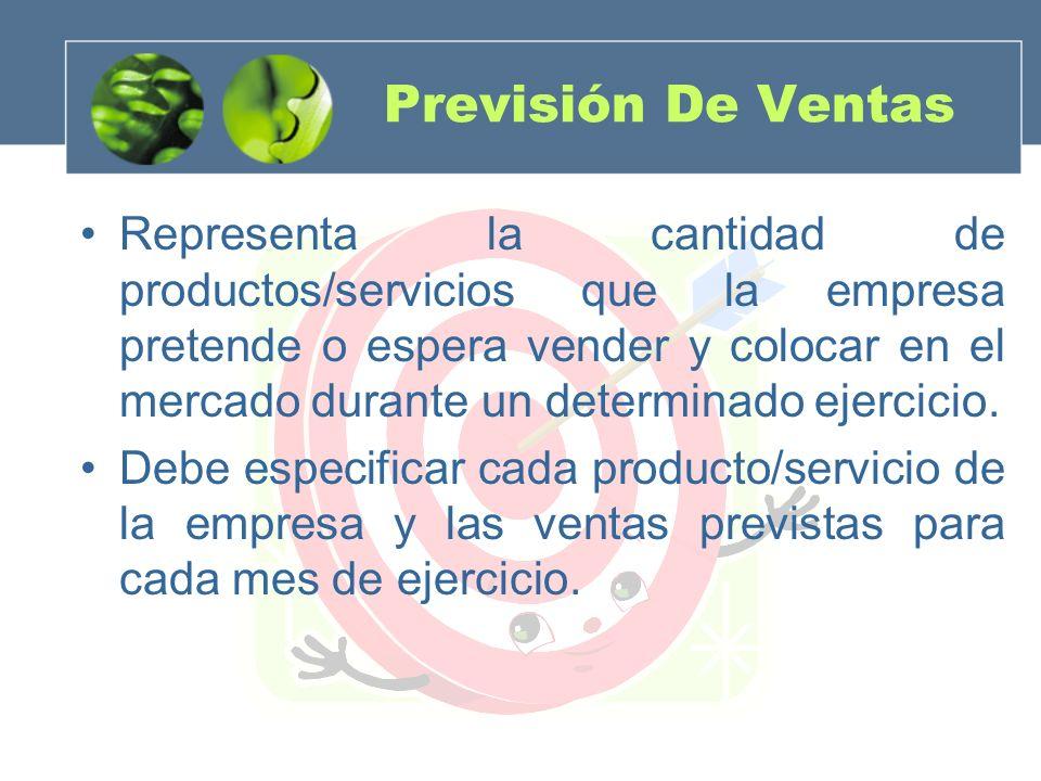 Previsión De Ventas