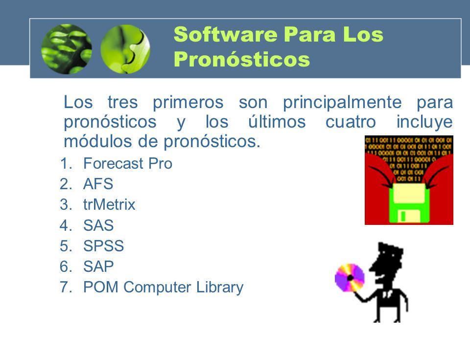 Software Para Los Pronósticos