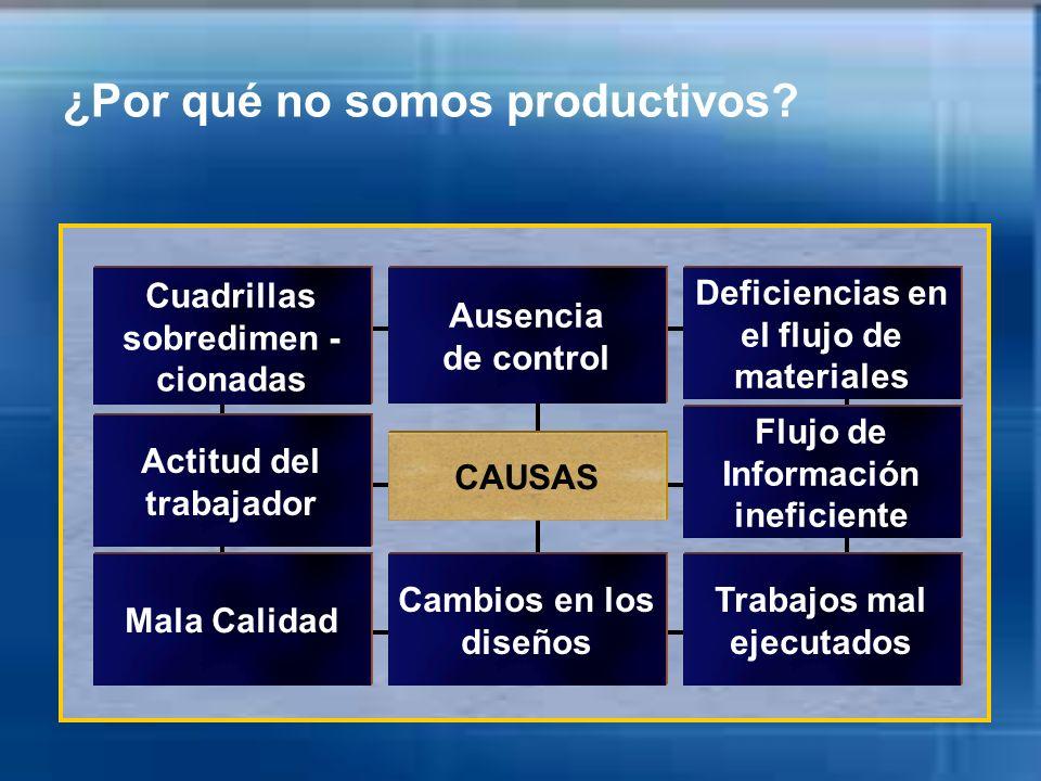 ¿Por qué no somos productivos