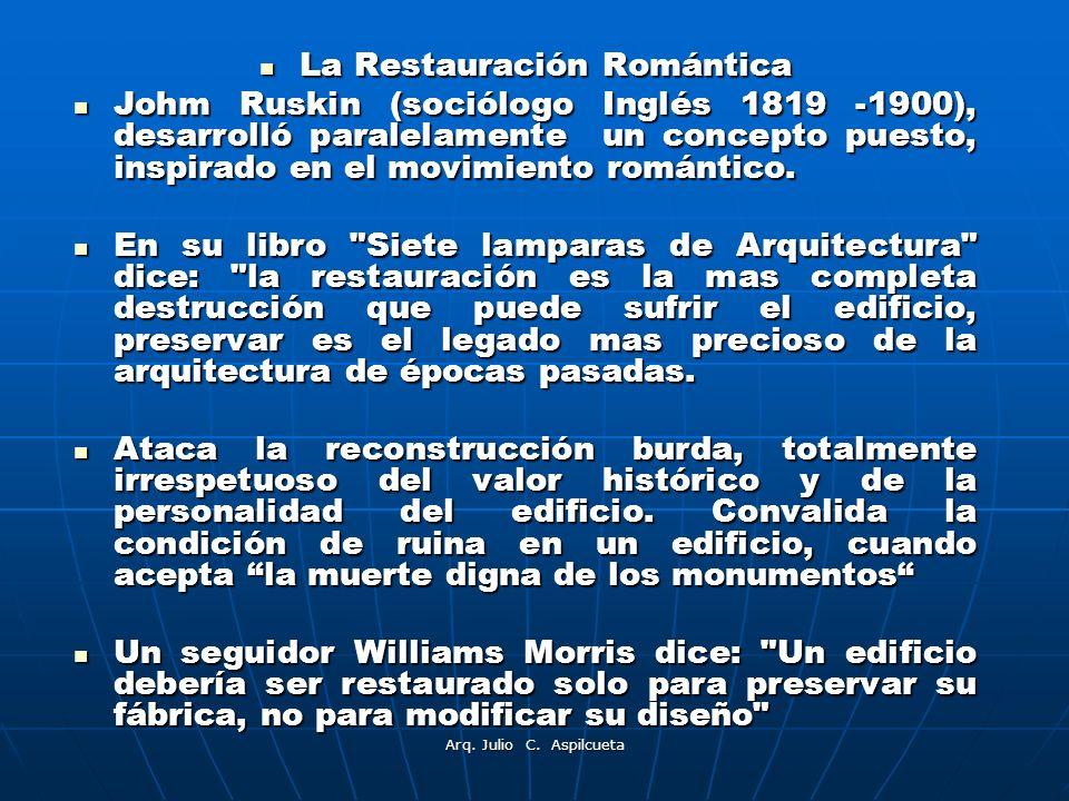 La Restauración Romántica