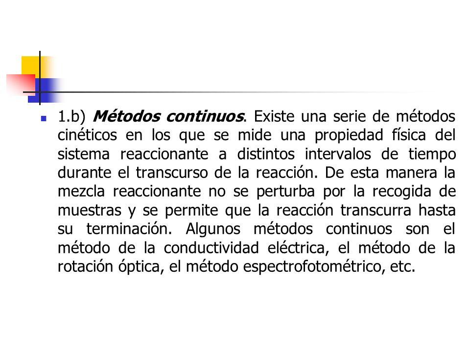 1.b) Métodos continuos.