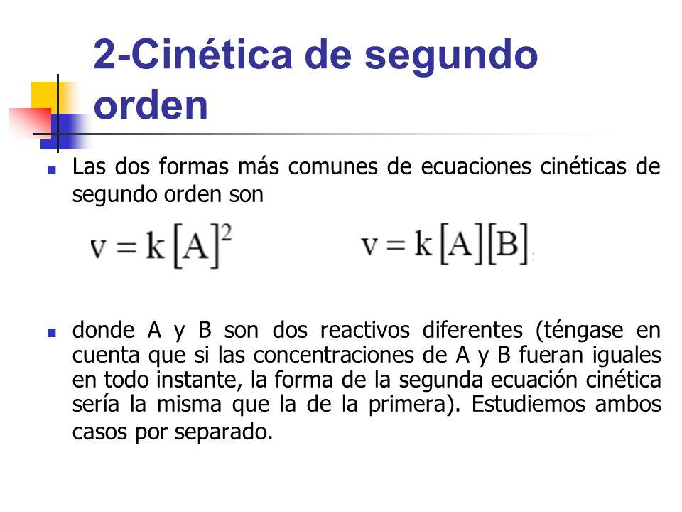 2-Cinética de segundo orden