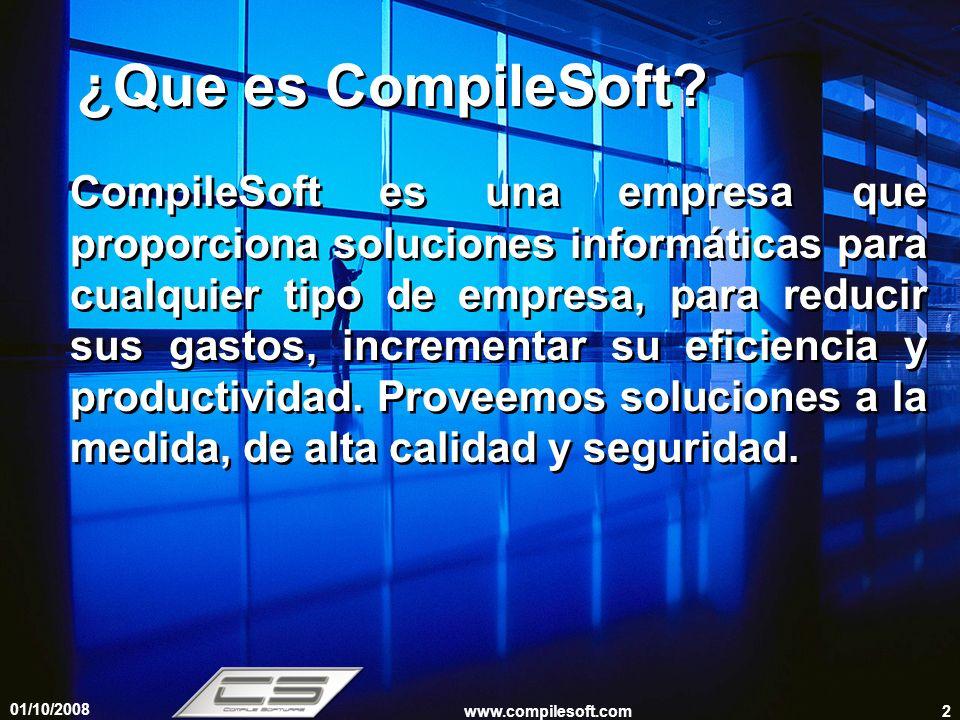 ¿Que es CompileSoft