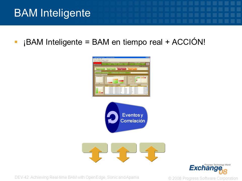 BAM Inteligente ¡BAM Inteligente = BAM en tiempo real + ACCIÓN!
