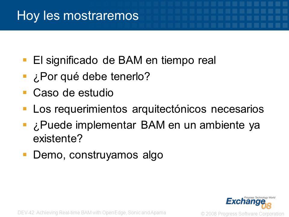 Hoy les mostraremos El significado de BAM en tiempo real