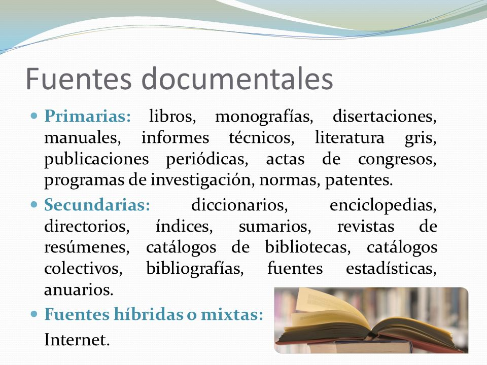 Fuentes documentales